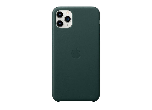iPhone 11 Pro Max - Apple Leather Case/Forest Green