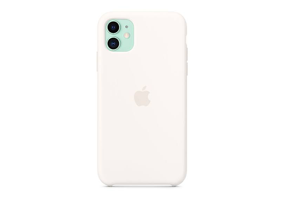 iPhone 11 - Apple Silicone Case/White