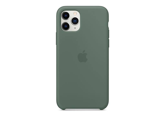 iPhone 11 Pro Max - Apple Silicone Case/Pine Green