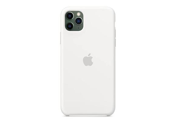 iPhone 11 Pro Max - Apple Silicone Case/White