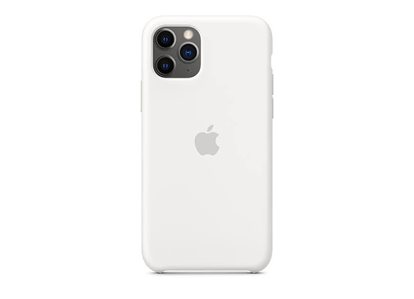 iPhone 11 Pro - Apple Silicone Case/White