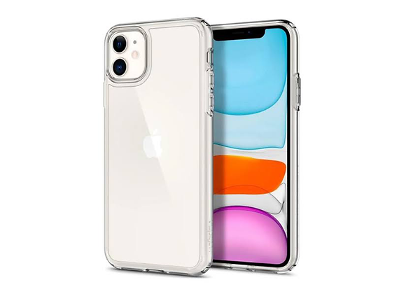 iPhone 11 Spigen Crystal Hybrid Crystal Clear