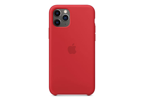 iPhone 11 Pro - Apple Silicone Case/(PRODUCT)RED