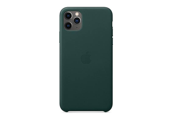 iPhone 11 Pro - Apple Leather Case/Forest Green