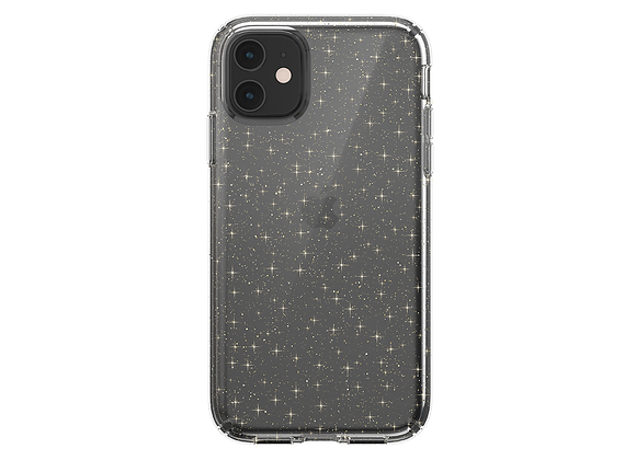 iPhone 11 Speck Presidio Clear + Glitter (Clear With Gold Glitter/Clear)