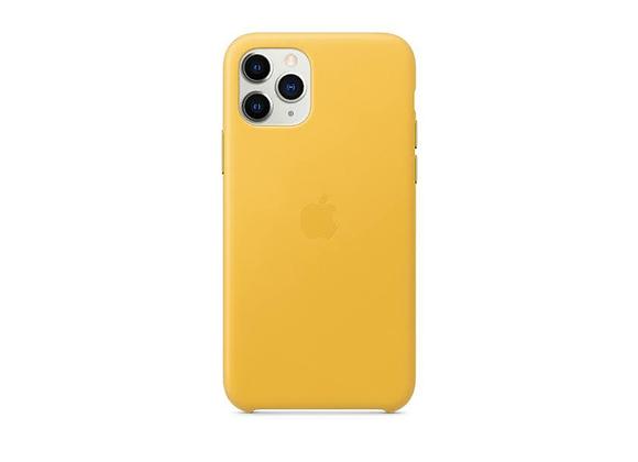 iPhone 11 Pro - Apple Leather Case/Meyer Lemon