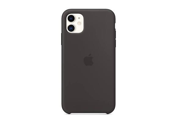 iPhone 11 - Apple Silicone Case/Black