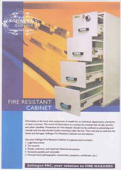 SOLINGEN FIRE RESISTANT CABINET