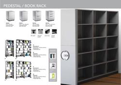 SOLINGEN PEDESTAL / BOOK RACK
