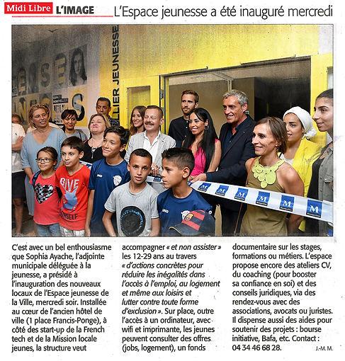 Midi lbre LAP architectes Espace Montpellier Jeunesse
