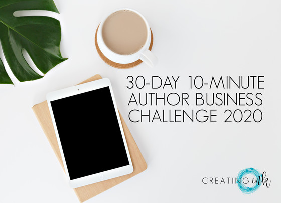 30-DAY 10-MINUTE AUTHOR BUSINESS CHALLENGE