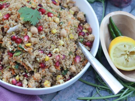 Quinoa Bhel