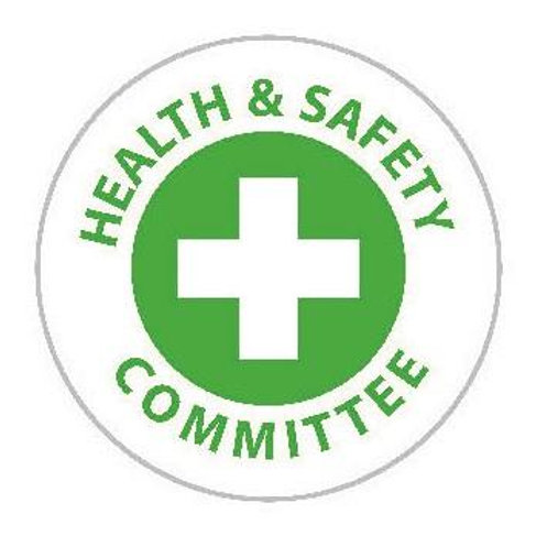 Health & Safety Committee Sticker