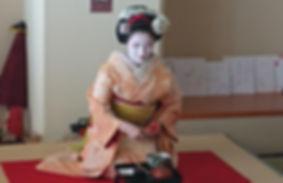 ★109 舞妓ランチ 梅ひなさん 先斗町 秀芙美さん 和菓子_191031_00