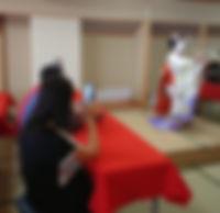 ★1011 叶久さん 舞妓ランチ、舞妓お点前_191031_0011.jpg
