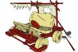 Flintstones golf cart