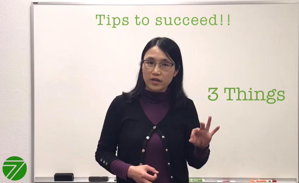 "<img src=""tips.jpg"" alt=""dr. yan liu of 7edu providing tips to succeed"">"