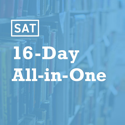 Summer SAT 16-Day All In One