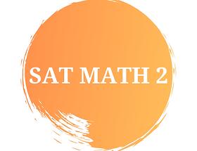 SAT MATH 2