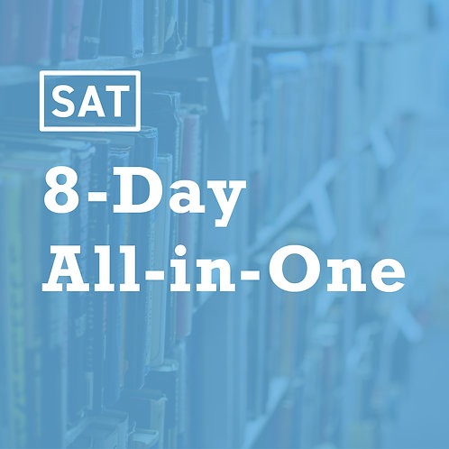 [Jul. Weekday] Summer SAT 8-Day All-in-One Strategy