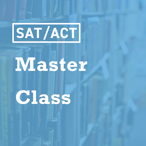 SAT/ACT English Master Class