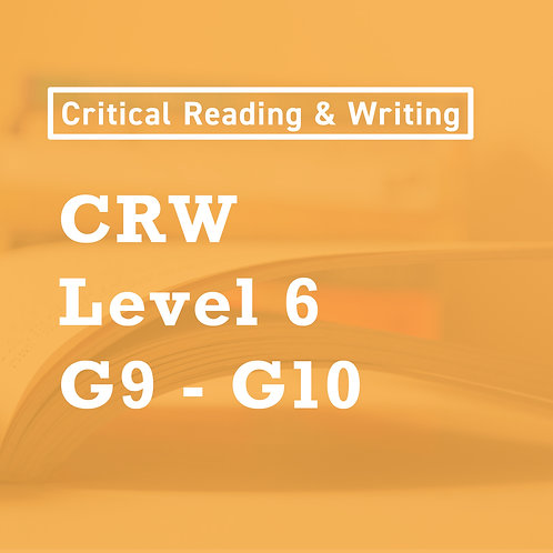 Feb. - [Level 6] CRW Skills for High School Language Arts