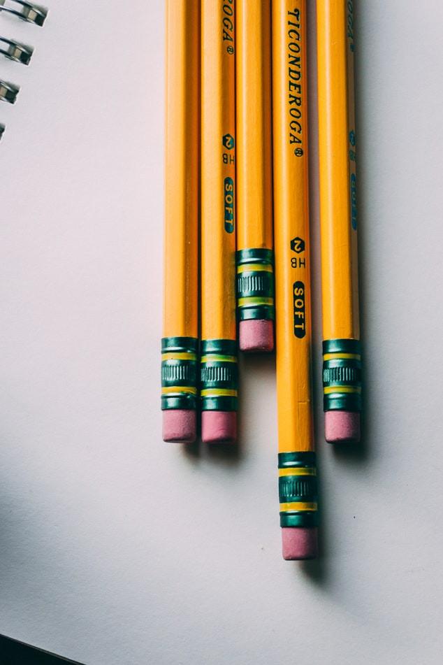 "<img src=""pencils.jpg"" alt=""number two pencils on white spiral paper"">"