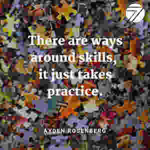 "<img src=""practice.jpg"" alt=""photo of puzzles and motivating quote that tells students that skills require practice"">"