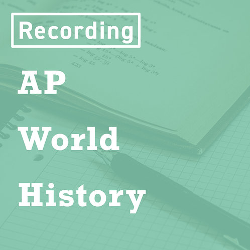 AP World History Recordings