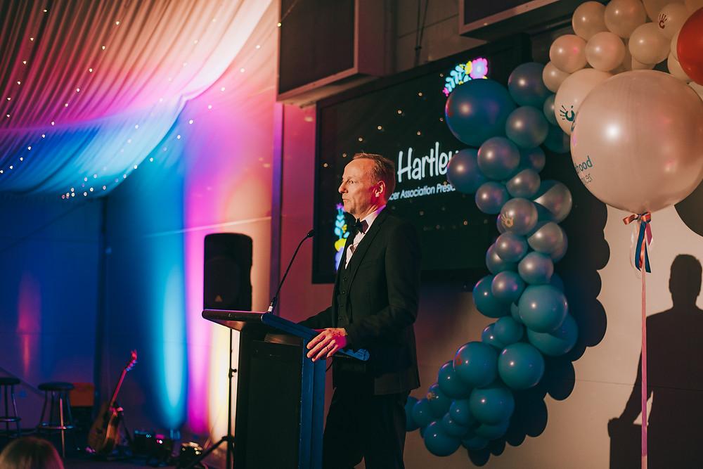 Chris Hartley, CCA President