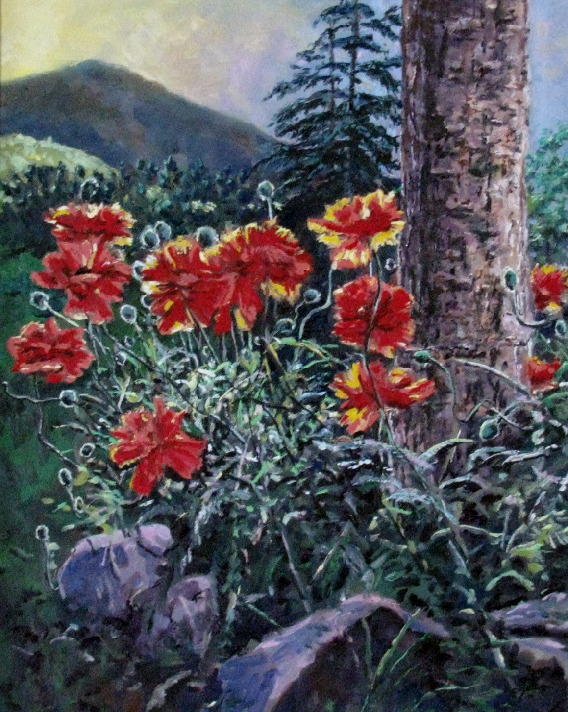 Snap, Crackle, Poppies