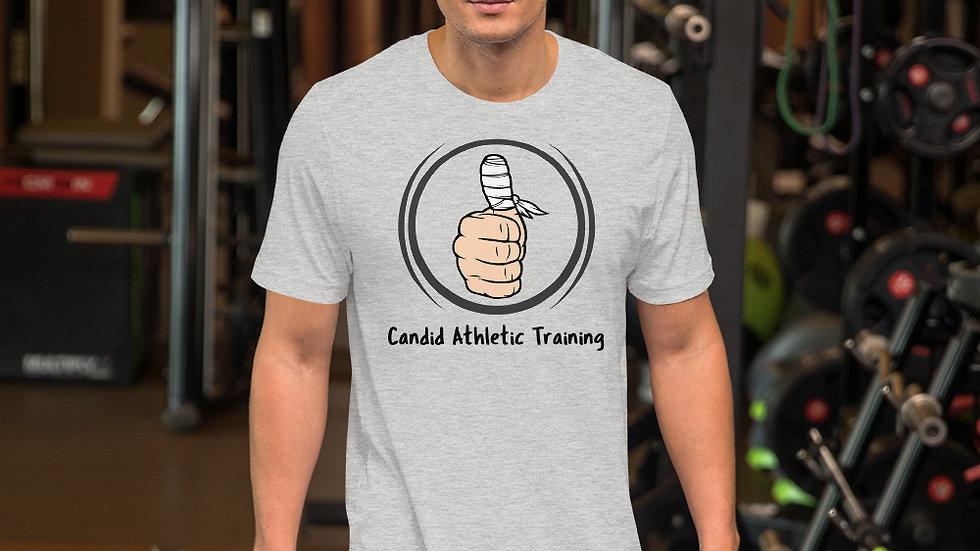 Candid Short-Sleeve Unisex T-Shirt Main Logo