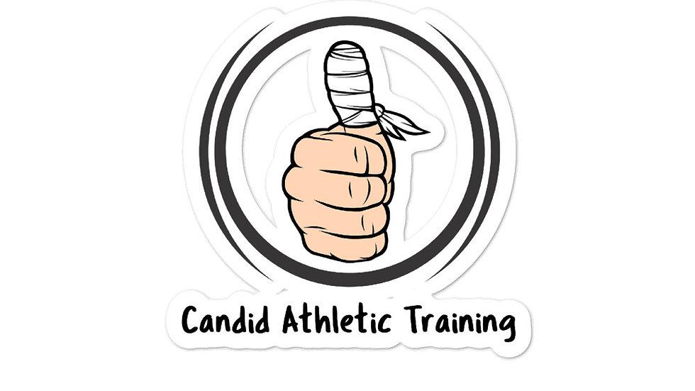 Candid Main Logo Sticker