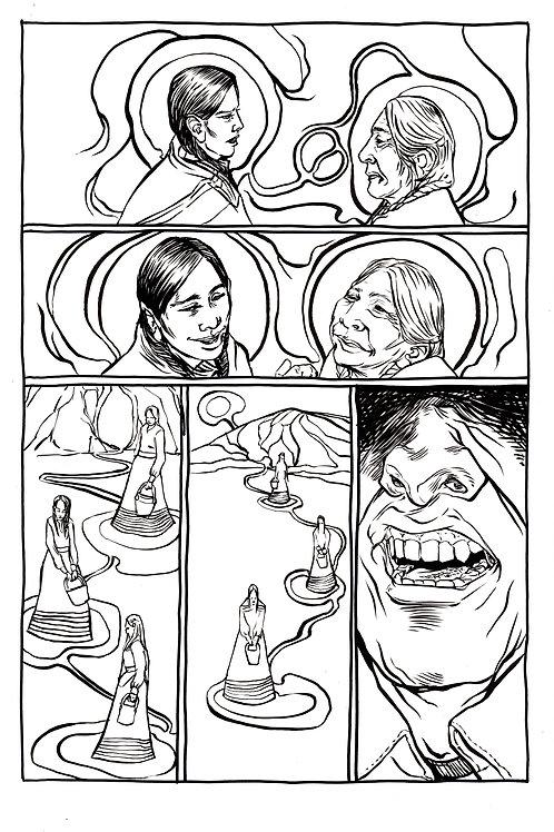 Moonshot Volume 3 page 6 Original art