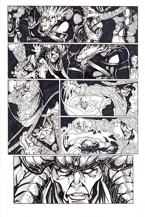 ARCHAIC Issue 12 page 7 Original Art