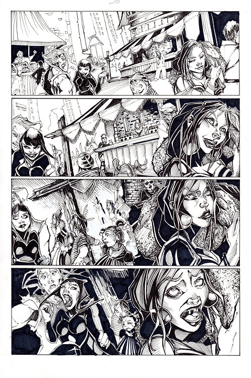 ARCHAIC Issue 11 page 20 Original Art