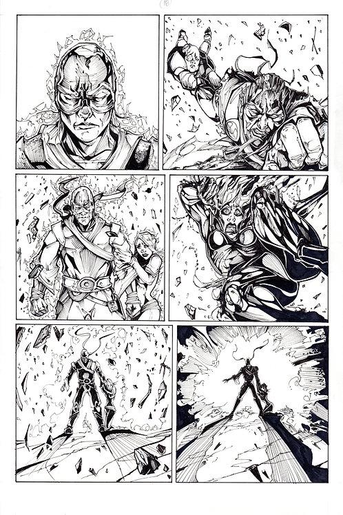 ARCHAIC Issue 11 page 18 Original Art