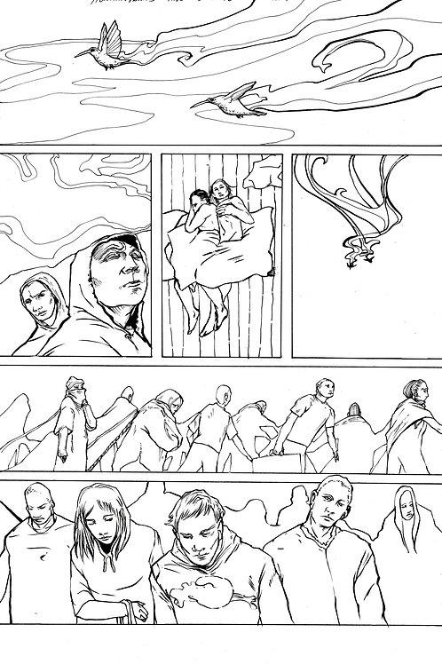 Moonshot Volume 2 page 6 Original art