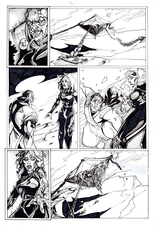 ARCHAIC Issue 11 page 16 Original Art