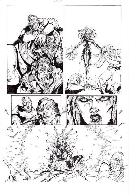 ARCHAIC Issue 11 page 14 Original Art