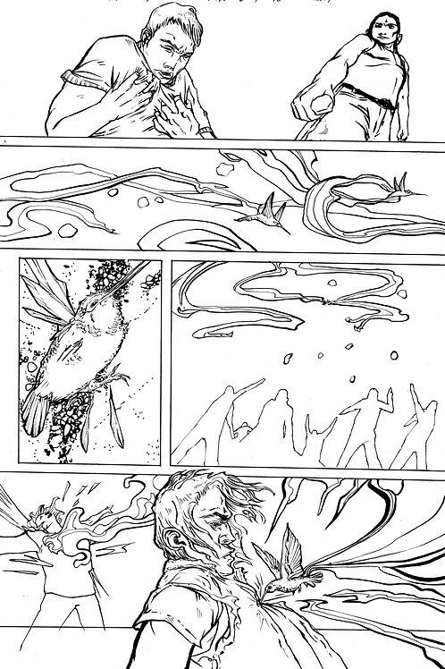 Moonshot Volume 2 page 8 Original art