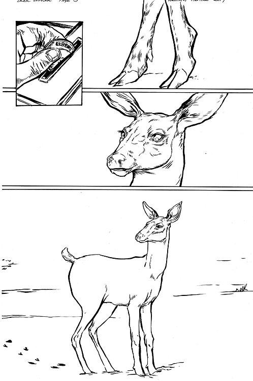 Deer Dancer page 5 Original Art