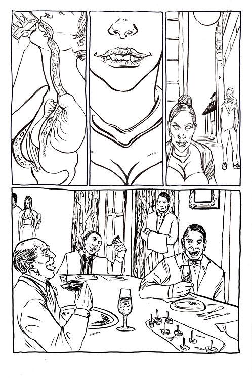 Moonshot Volume 3 page 4 Original art