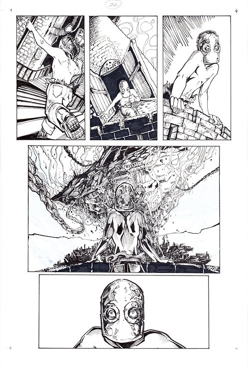 ARCHAIC Issue 11 page 22 Original Art
