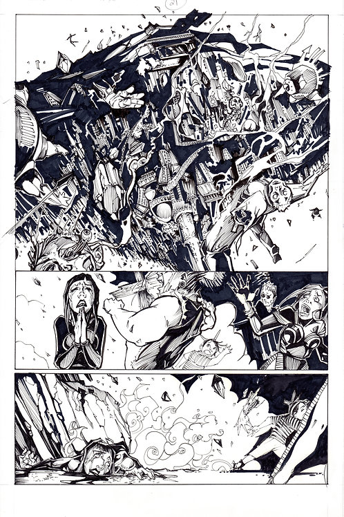 ARCHAIC Issue 11 page 21 Original Art