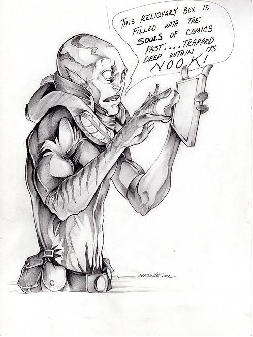 Abe Sapien sketch