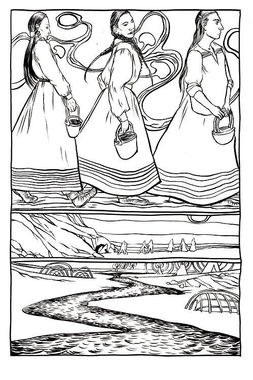 Moonshot Volume 3 page 8 Original art