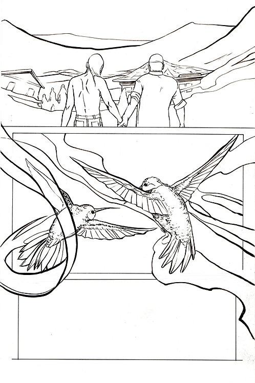 Moonshot Volume 2 page 10 Original art