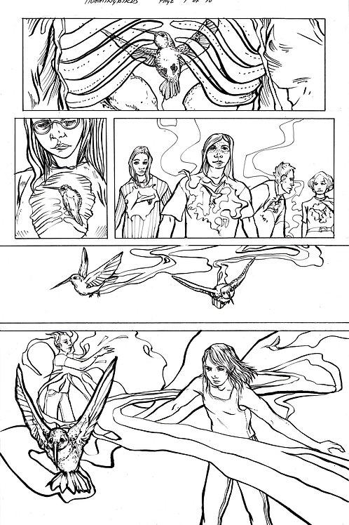Moonshot Volume 2 page 7 Original art