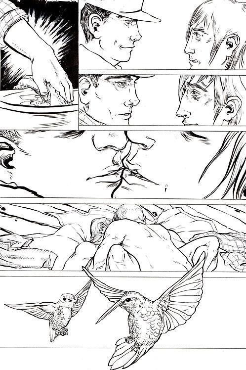 Moonshot Volume 2 page 5 Original art